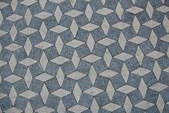 Взгляд сверху блокировать конкретную поверхность paver Стоковое Изображение