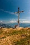 взгляд сверху горы montseny montserrat Стоковая Фотография