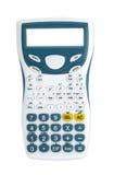 Взгляд сверху калькулятора Стоковые Фото