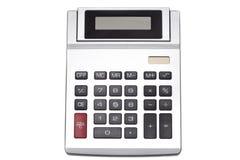 Взгляд сверху калькулятора Стоковое Изображение RF