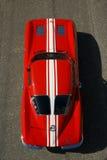 Взгляд сверху 1963 Корвета Z06 Стоковое Изображение