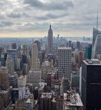 Взгляд сверху Манхаттана, США Стоковое фото RF