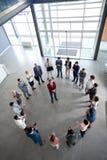 Взгляд сверху на деловой встрече Стоковая Фотография RF