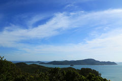 Взгляд сверху океана Стоковое фото RF
