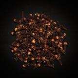 Взгляд сверху органического черного гвоздичного дерева Стоковое Фото