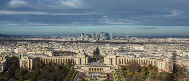 Взгляд сверху Парижа, Франции Стоковое Изображение