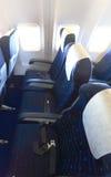 Взгляд сверху пустых мест самолета Стоковые Фотографии RF