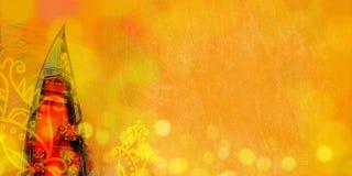 Взгляд сверху роскошной гондолы Предпосылка Венеции стоковое фото rf