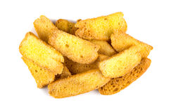 Взгляд сверху сахара отбензинивания хлеба масла кудрявого Стоковая Фотография