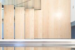 Взгляд сверху современной лестницы Стоковое Изображение RF