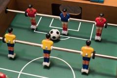 Взгляд сверху футбола таблицы стоковое фото