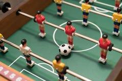 Взгляд сверху футбола таблицы стоковое изображение rf