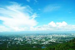 Взгляд сверху Чиангмай Таиланд Стоковые Изображения RF