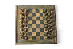 Взгляд сверху шахматной доски Стоковое Изображение RF