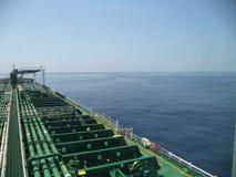 взгляд сверху Atlantic Ocean Стоковое Изображение