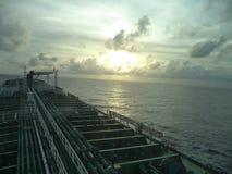 взгляд сверху Atlantic Ocean Стоковое Фото