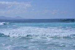 взгляд сверху Atlantic Ocean Стоковые Фото