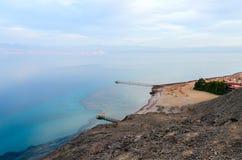 Взгляд сверху Gulf of Aqaba Стоковые Изображения RF