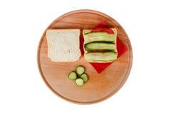 Взгляд сервировки завтрака Стоковая Фотография RF
