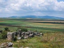 Взгляд сельской местности от Volubilis, Марокко Стоковое фото RF