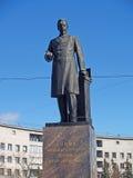 Взгляд собора Андрюа апостола Памятник к a S Popov (1859-1906), к изобретать Стоковое Фото
