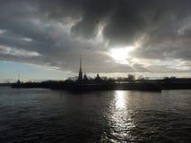 Взгляд собора Андрюа апостола Стоковое фото RF