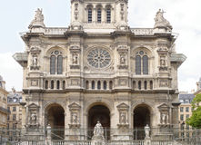 Взгляд собора святой троицы на ` Estie квадрата d Стоковое Изображение