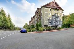 Взгляд современного жилого дома Стоковое фото RF