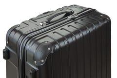 Взгляд со стороны большого облегченного трудного обстреливаемого фокуса чемодана бушеля Стоковое фото RF