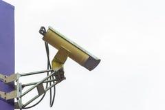 Взгляд со стороны камеры слежения Стоковые Фотографии RF