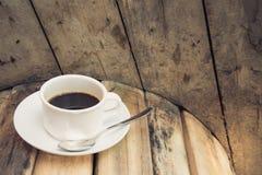 Взгляд со стороны кофе утра Стоковые Фото