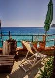 Взгляд со стороны моря Стоковое Фото