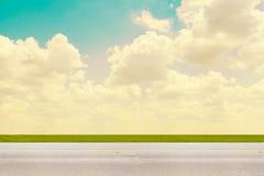 Взгляд со стороны дороги Стоковые Фотографии RF