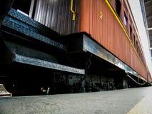Взгляд со стороны поезда Марии Fumaça Стоковые Изображения RF