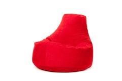 Взгляд со стороны славной новой и мягкой красной погремушкы Стоковые Изображения