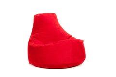 Взгляд со стороны славной новой и мягкой красной погремушкы Стоковое Изображение RF