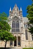 Взгляд со стороны Votivkirche, вена Стоковая Фотография