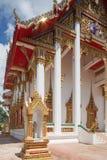 Взгляд со стороны Wat Chalong стоковое фото