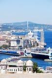 Взгляд Стамбула Стоковые Фотографии RF