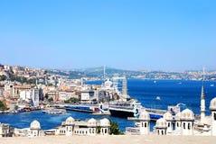Взгляд Стамбула Стоковое Изображение