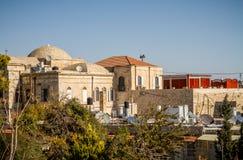 Взгляд старого города Иерусалима в Израиле Стоковые Фотографии RF