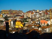 Взгляд старого городка, Порту, Португалии Стоковое Изображение RF