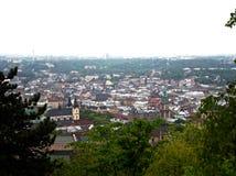 Взгляд старого Львова Стоковая Фотография RF