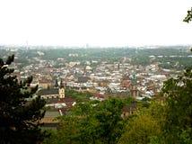 Взгляд старого Львова Стоковые Фото