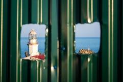 Взгляд старого маяка Стоковая Фотография