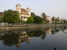Взгляд старой Джакарты Стоковая Фотография