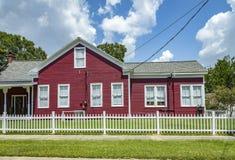 Взгляд старых домов кирпича в Eastpoint, США Стоковое Изображение RF