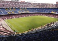 Взгляд стадиона Nou лагеря Стоковая Фотография RF