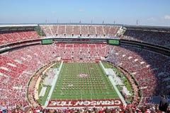 Взгляд стадиона pregame Стоковые Изображения RF