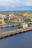 Взгляд Стокгольм, Швеции Стоковые Фото